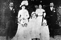 Wedding: William Patrick Lyons and Johanna Josephine Meagher, 24 April 1901
