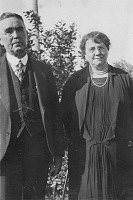 William and Johanna Lyons, about 1930